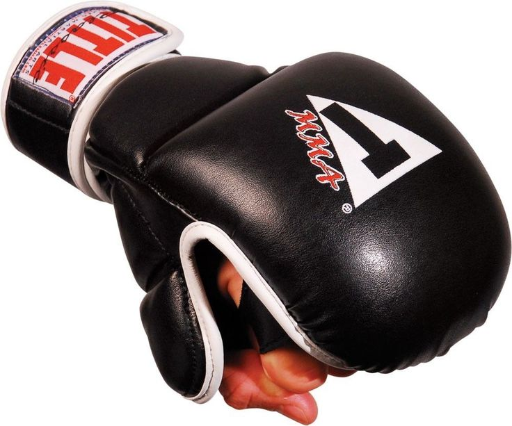 TITLE CLASSIC MMA SAFETY TRNG GLOVES SYNTHETIC hand protection during MMA class #TITLEBoxing