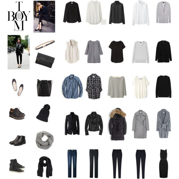 This looks eerily similar to my own capsule wardrobe. Shout out to the Gamine ladies out there!