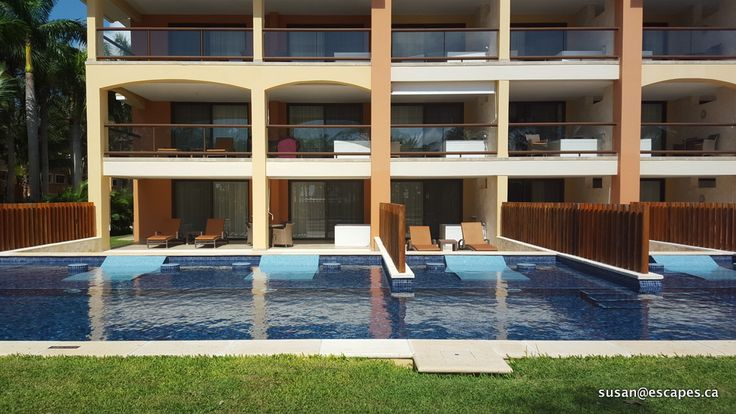 Barcelo Riviera Maya. Why not step out of your suite into your own pool?