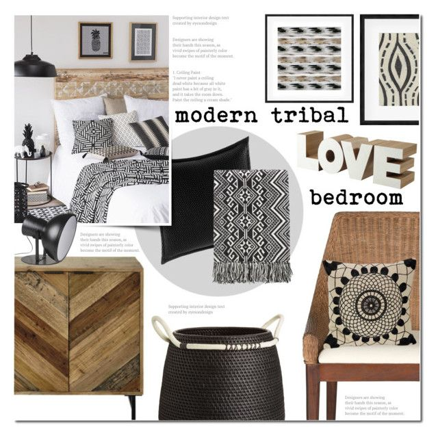 Modern Tribal Bedroom By Anna Anica On Polyvore Featuring Interior Interiors