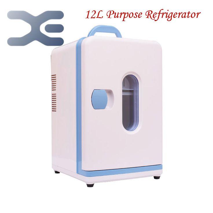Hoge kwaliteit mini nevera slaapzaal huis koelkast koud- hot tweeledig doel draagbare koelkast koelkast gratis verzending