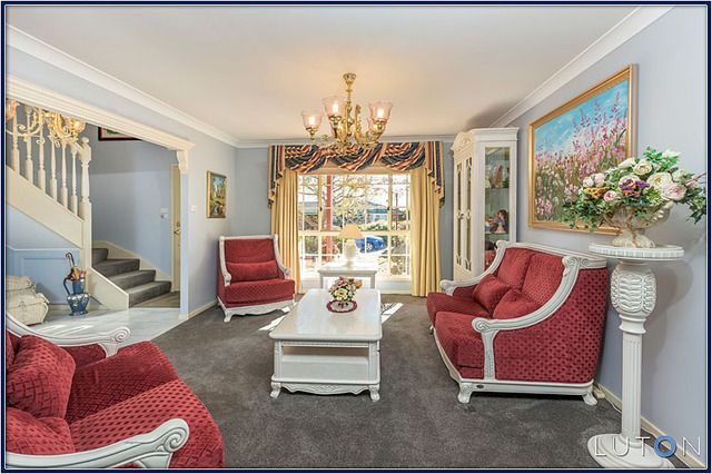 """""""Formal Lounge""""... I think the flowers really set this room off."""
