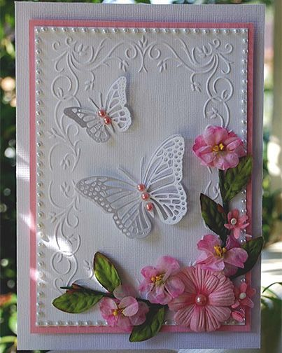 Butterfly Card: