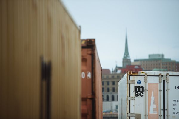 MSC shipping #SaintJohn #containers #cargo @portsaintjohn