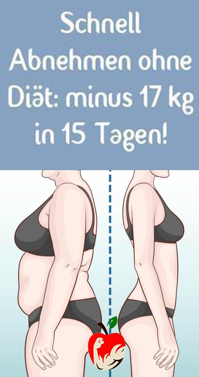 Wie man schnell und einfach ohne Diät Gewicht verliert