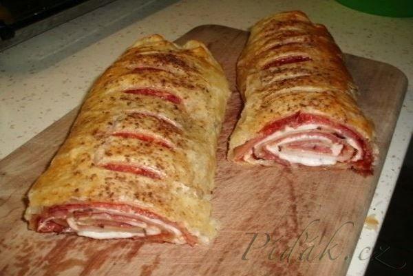 Obrázek z Recept - Slaný štrůdl rychlá večeře
