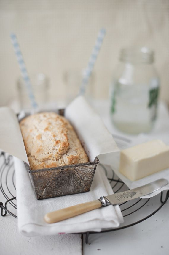 beer bread from A Subtle Revelry. Super easy to make!
