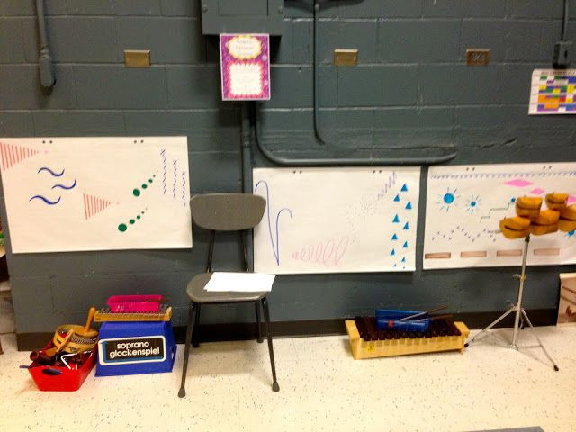 Centers: Graphic Notation Station   Elementary Music Resources