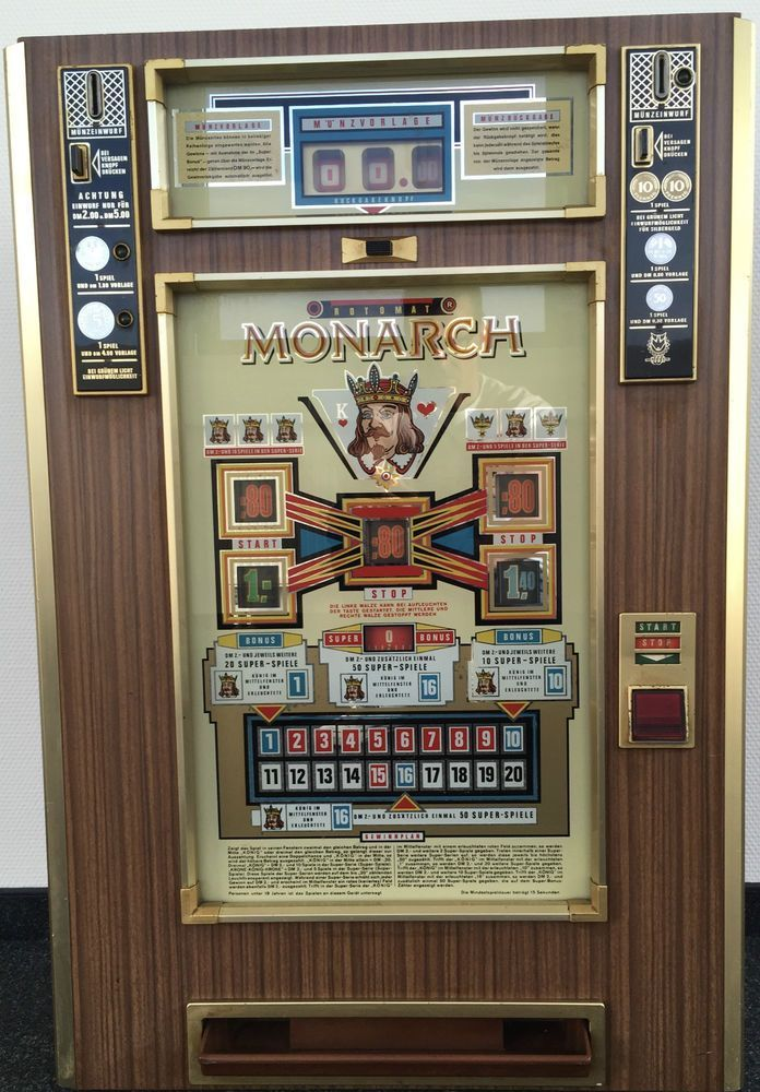 70erJahre Spielautomat Wulff Apparatebau Berlin R