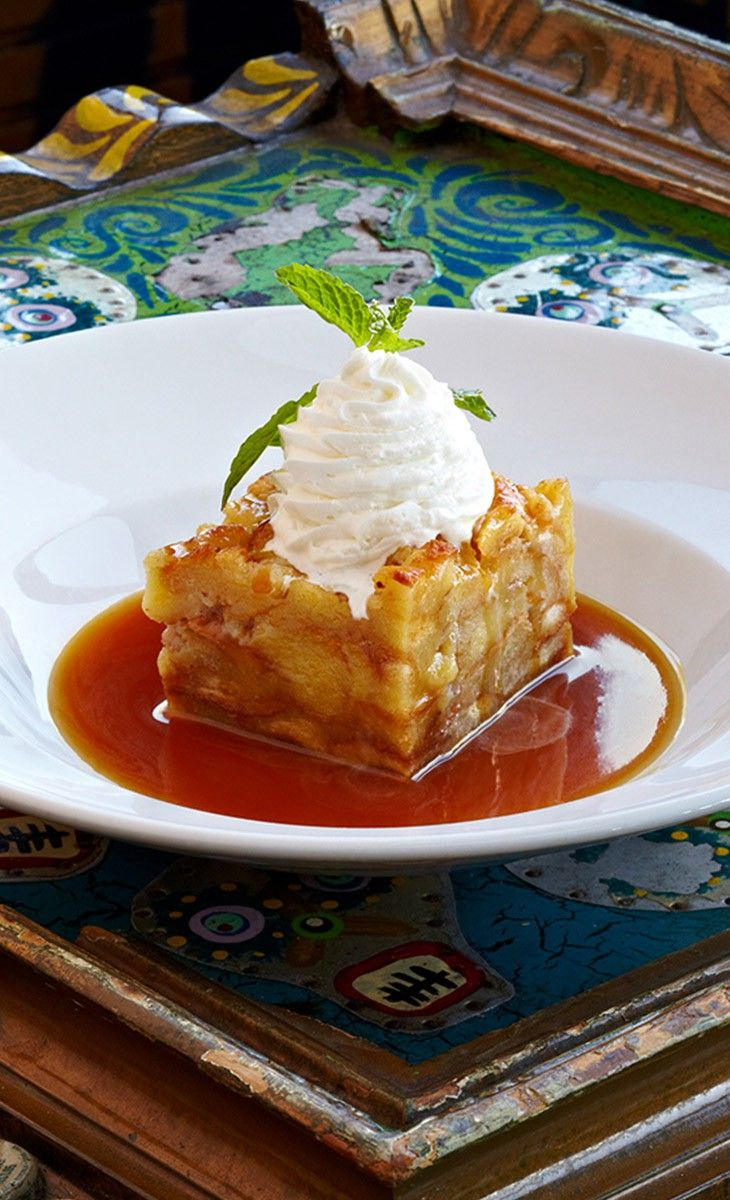 Bourbon Bread Pudding - Cooked with bananas and white ...