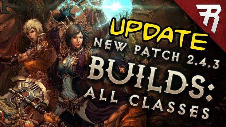 New Diablo 3 Patch 2.4.3 Season 9 Builds - UPDATE #Diablo #blizzard #Diablo3 #D3 #Dios #reaperofsouls #game #players