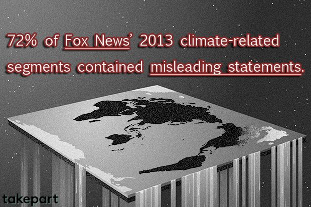 Fox News Lies About Climate Change…a Lot