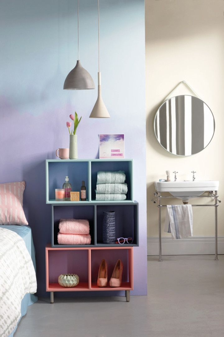 For today we're spotlighting two techniques that make use of the beautiful and whimsical Urban Glow palette from this year's Plascon 2015 Colour Forecast. @plascontrends