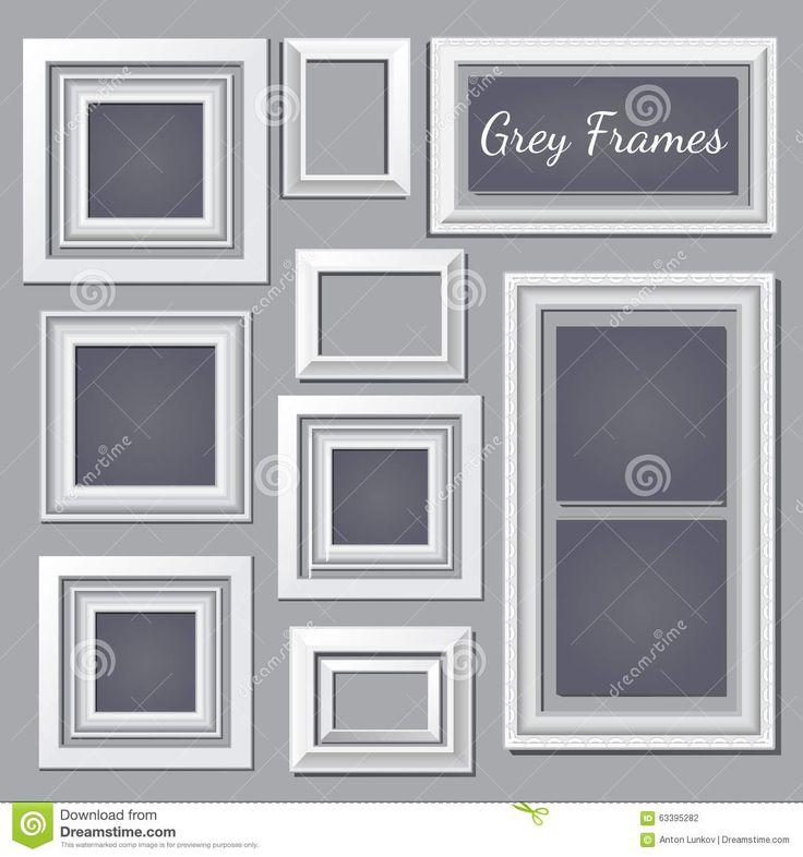 best 20 grey picture frames ideas on pinterest hallway. Black Bedroom Furniture Sets. Home Design Ideas