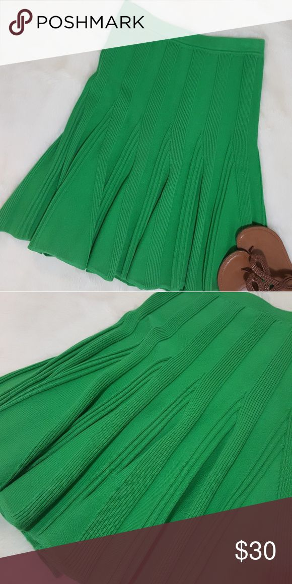 """Urban Outfitters LUX Green Sweater Dress - Small EUC. Only worn once.  100% cotton, elastic waist, flared bottom.  13"""" waist, 23"""" long (approx.) Lux Skirts Midi"""