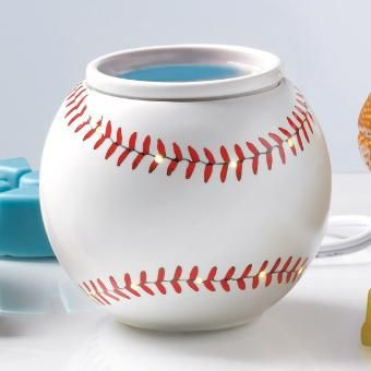 Play Ball! ScentGlow Warmer. A home run every time! #PartyLite #Summer