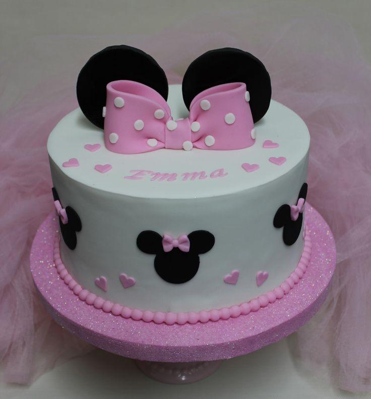 Minnie Mouse Cake  Violeta Glace