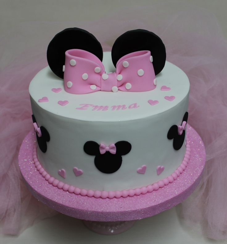...  Birthdays Cakes  Pinterest  Minnie mouse, Cakes and Mouse cake