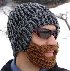 Hat with beard.  Must make, this is better than the average balaclava.