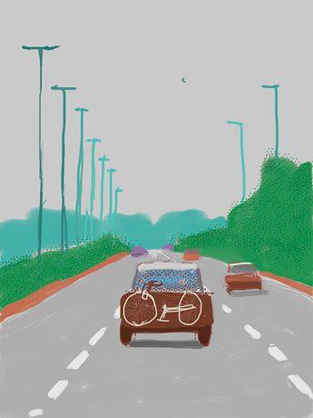 iPad : Digital : Works   David Hockney