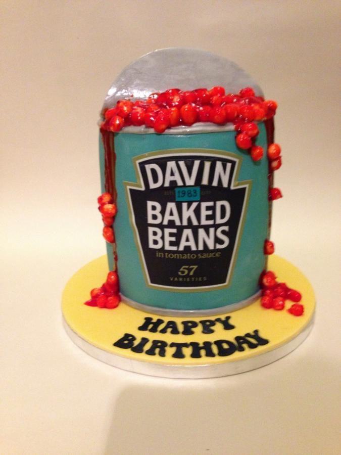 Baked Beans cake