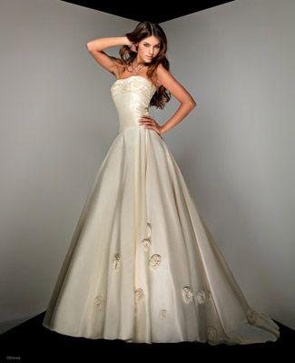 Disney Princess Wedding Dresses For Your Fairy Tale Wedding: Disney's Belle Wedding Gown 1