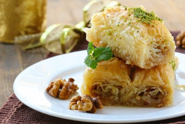 Cannabis Baklava Recipe |  This traditional Greek or Turkish dessert is an easy-to-make culinary achievement that is sure to impress friends and family.  @whaxy
