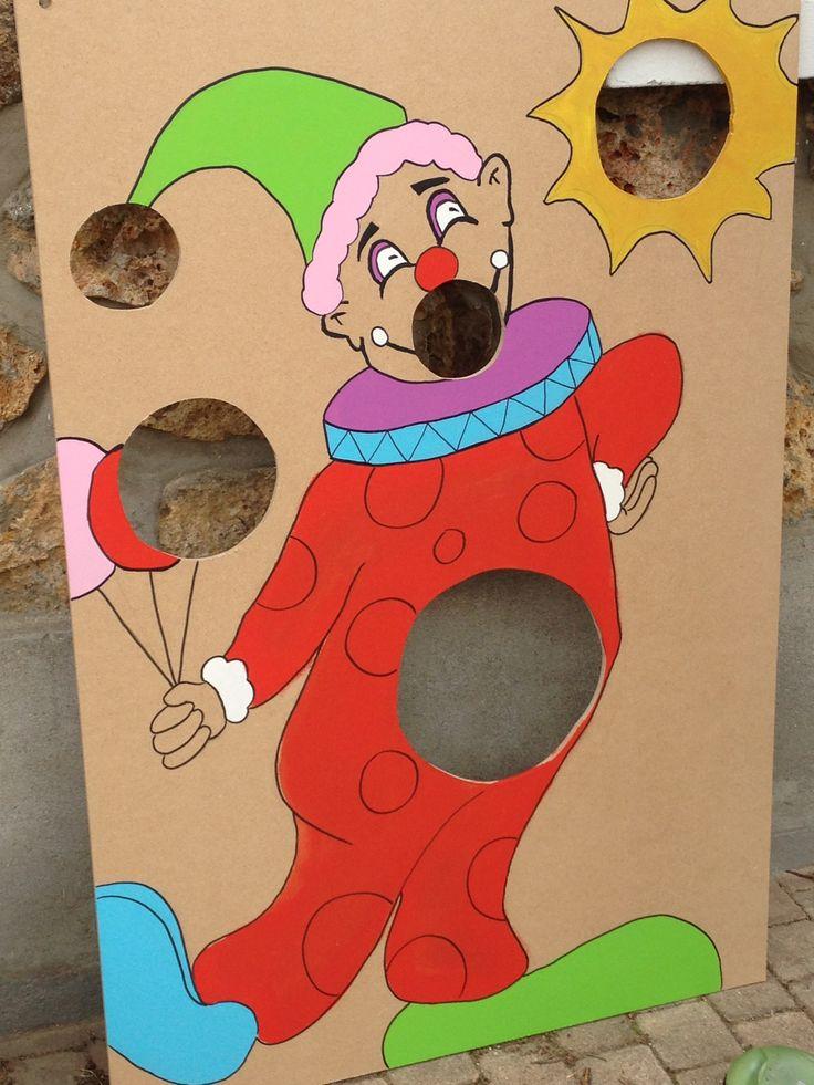 jeux du clown kermesse
