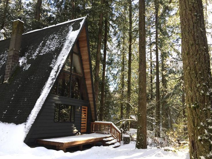 Rancho Relaxo - A Beautiful Mountain A-frame - Cabins for Rent in Rhododendron, Oregon, United States
