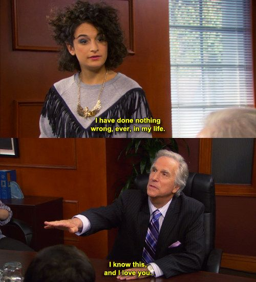 When she was all of us. | 27 Times Jenny Slate Made You Laugh So Hard You Cried