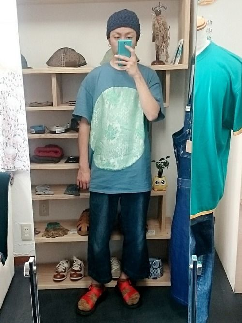 途中でやめるのTシャツかわいい~☆ 販売しておりますので「OWL 佐世保」で検索~☆通販やオンライン