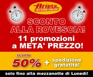 Ariete de Longhi 50% di sconto su 11 prodotti