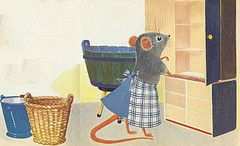 laundry mouse