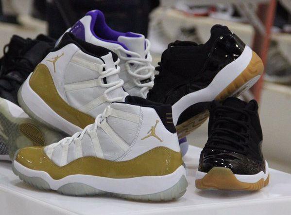0c5ea1f2d6 Air Jordan 11 Low White Gold Olympic | SHOE GAME GOALS | Jordans ...