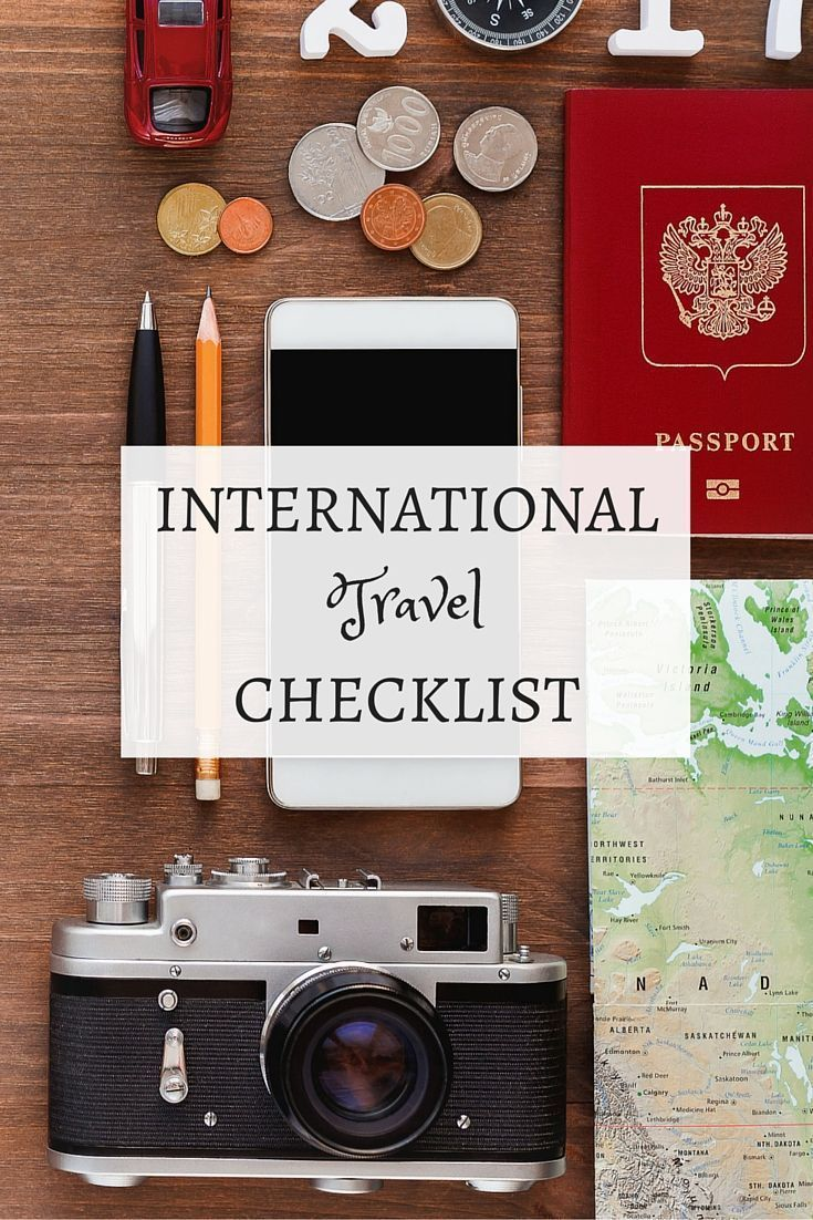 This international travel checklist will help you prepare for travel anywhere you may want to visit. Get ready for your next trip!