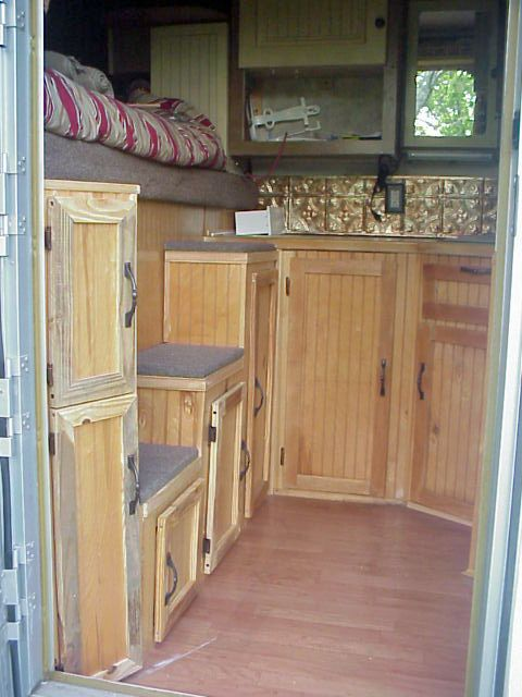 Charmant Horse Trailer Small Living Quarters | Horse Trailer World : Trailer Talk :  Pics Of DIY