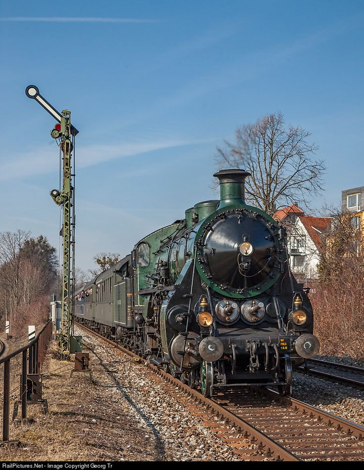 18 478 BEM-Bayerisches Eisenbahnmuseum Noerdlingen S 3/6 at Lindau, Germany by Georg Trüb