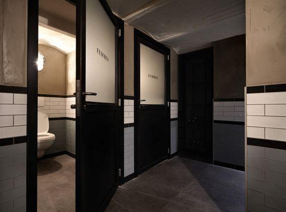 Industrial Commercial Restrooms : Best commercial bathroom images on pinterest