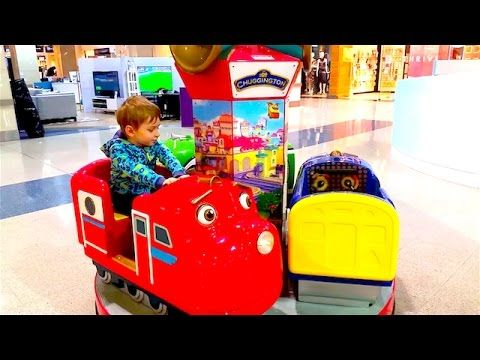 In search of trains Chaggington , Fire truck with fireman