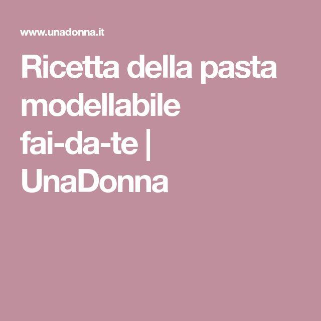 Estremamente Oltre 25 fantastiche idee su Pasta modellabile su Pinterest | Fare  NU46