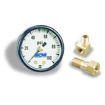 B Fuel Pressure gauge -- Suits EFI applications 0-100psi www.LearnAutomotiveKnowledgeOnline.com