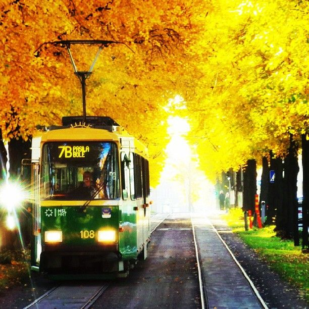 Fall comes to Helsinki. See why this Finnish city is becoming an increasingly popular tourist destination. Photo courtesy of rodiant on Instagram.