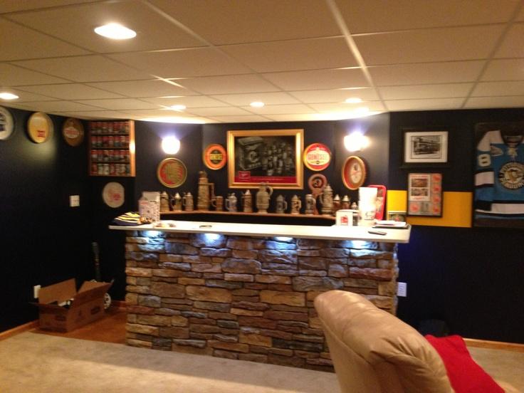Under bar lighting bar pinterest basements and lighting - Home bar lighting ideas ...