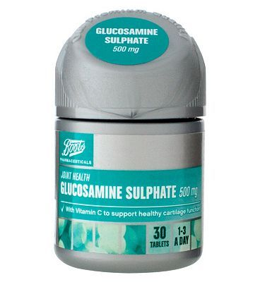 #Boots Pharmaceuticals Glucosamine Sulphate 500 #20 Advantage card points. FREE Delivery on orders over 45 GBP. (Barcode EAN=5045097866523)