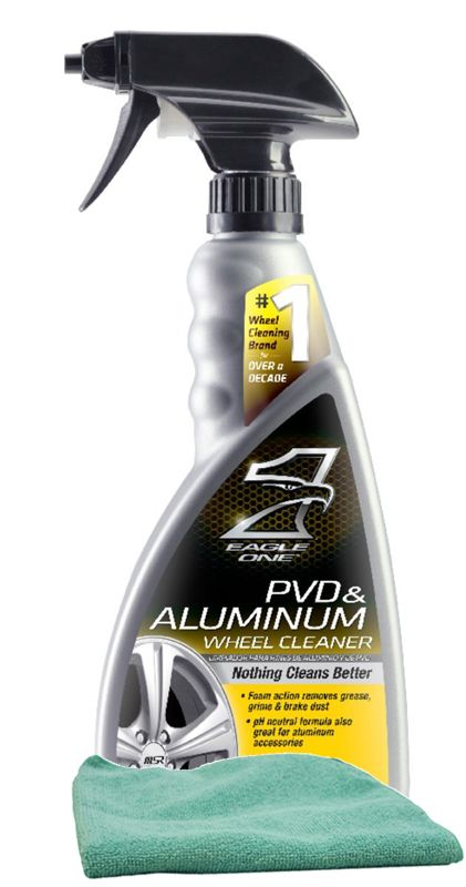Eagle One PVD & Aluminum Wheel Cleaner 23 oz. Microfiber Cloth Kit: .auto-style1 text-decoration… #CarParts #AutoParts #TruckParts