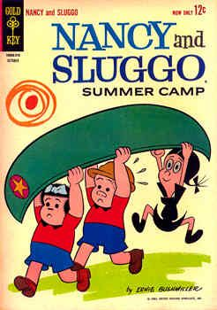 Nancy and Sluggo - Oh my....since my name is Nancy.....I felt such a connection to this comic as a little girl!! (Wasn't that silly?)