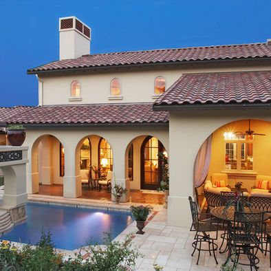 17 images about house color schemes on pinterest stucco for Mediterranean roof styles
