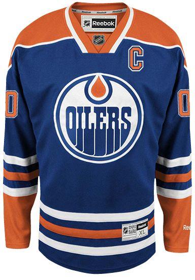 Edmonton Oilers Reebok Home Jersey