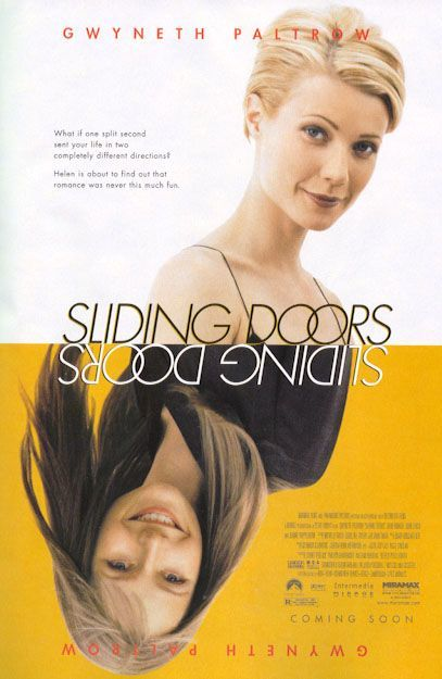 Sliding Doors - set in London; a movie about moments in time making a difference to your life - Paltrow is brilliant as an English girl by the way!