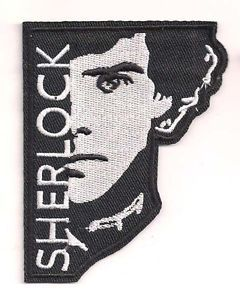 SHERLOCK-TV-Series-Logo-3-5-Embroidered-Patch-FREE-S-H-SHPA-0001